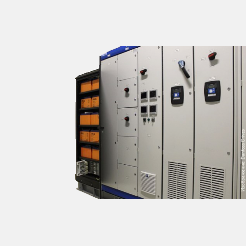 VEDAUPS electric drive uninterruptible power supply systems